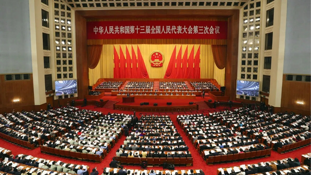 China: one country, two sessions, three threats